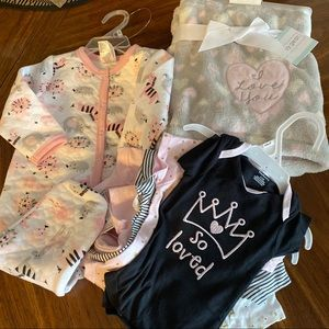 NWT Baby Bundle Several Items Perfect Shower Gift